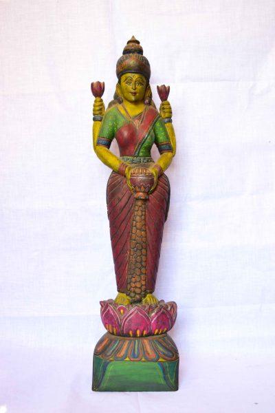 Wooden-Lakshmi