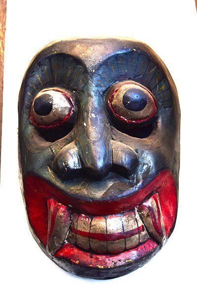 MK-003-Old Sri Lankan Mask